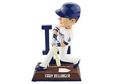 Los Angeles Dodgers Logo Player Bobblehead Cody Bellinger