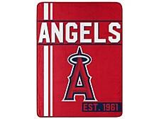 Los Angeles Angels Micro Raschel Walk Off Blanket
