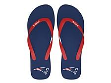 New England Patriots Logo Flip Flop