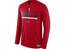 Men's Houston Rockets Practice Long-Sleeve T-Shirt