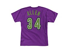 Men's Milwaukee Bucks Reload Player T-Shirt - Ray Allen
