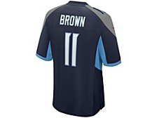 Tennessee Titans Men's Game Jersey - AJ Brown