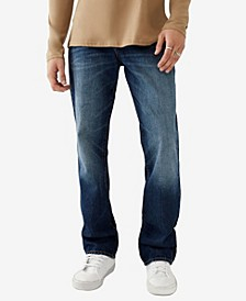 Men's Ricky Big T Straight Fit Jeans with Back Flap Pockets