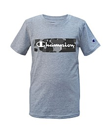 Big Boys Camo Backdrop Script T-shirt