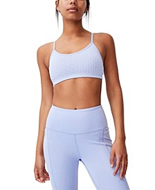 Women's Workout Yoga Crop Top
