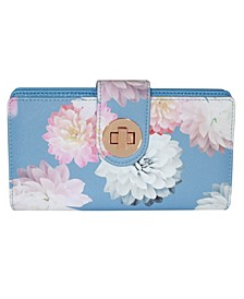 Women's Photo Floral RFID Superwallet