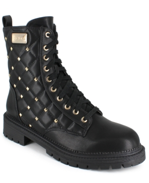 Women's Dorienne-b Stud Quilted Boots Women's Shoes