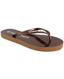 Women's Tracee Glitter Thong Sandals