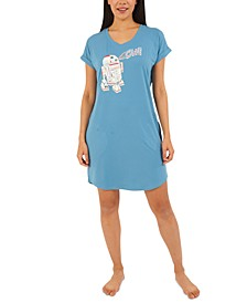 Star Wars R2D2 Chill Sleepshirt Nightgown