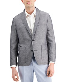 Men's Rocco Slim-Fit Chambray Blazer, Created for Macy's