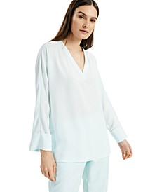Cuffed High-Low Top, Created for Macy's
