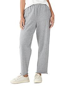 Straight-Leg Sweatpants