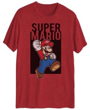 Super Mario Men's Short Sleeve Graphic T-shirt