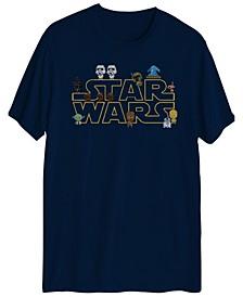 8-Bit Star Wars Men's Graphic T-shirt