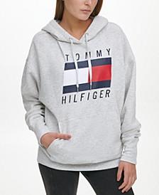Oversized Boyfriend Logo Hoodie