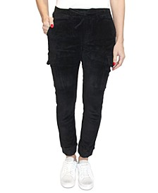 Crave Fame Juniors' Corduroy Jogger Pants