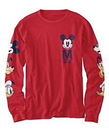 Big Boys Mickey Original Heads T-shirt