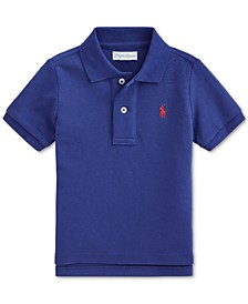 Ralph Lauren Baby Boys Cotton Mesh Polo Shirt