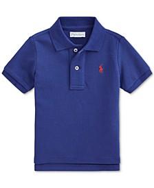 Ralph Lauren Baby Boys Cotton Mesh Polo Shirt