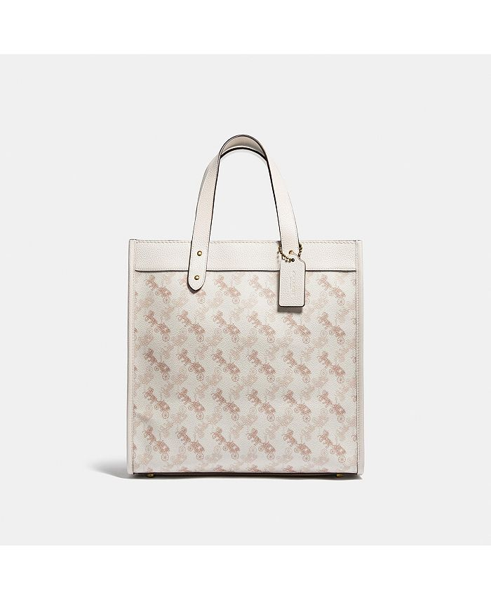 COACH - Horse and Carriage Coated Canvas Field Tote