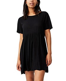 Women's the Good Times Baby Doll Mini Dress
