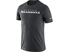 Seattle Seahawks Men's Dri-Fit Cotton Essential Wordmark T-shirt