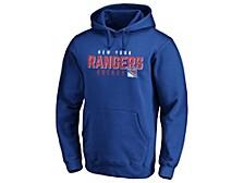 New York Rangers Men's Empty Netter Hoodie