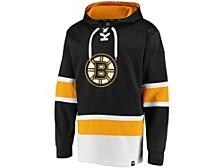 Boston Bruins Men's Power Play Lace Up Hoodie