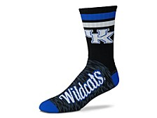 Kentucky Wildcats Black Script Socks