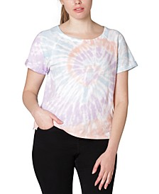 Juniors' Tie-Dye T-Shirt