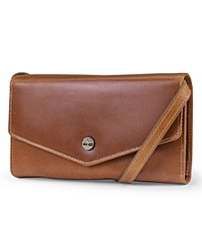 Envelope Clutch with Removable Crossbody Strap