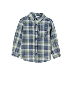 Cotton On BIG BOYS RUGGED LONG SLEEVE SHIRT