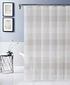"Chelsea Striped Shower Curtain, 70"" W x 72"" L"