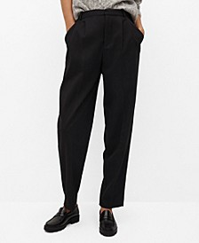 Women's Pleat Detail Pants