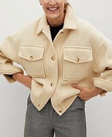 Women's Knitted Oversize Jacket