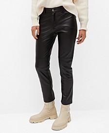 Women's Seam-Detail Slim-Fit Pants