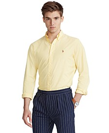 Men's Classic-Fit Stretch Oxford Shirt