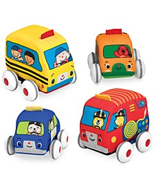 Kids' Pull-Back Vehicle Toys
