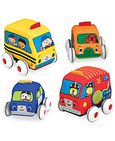 Melissa and Doug Kids' Pull-Back Vehicle Toys