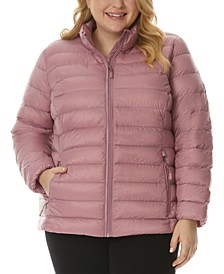 Plus Size Packable Puffer Jacket, Created for Macy's