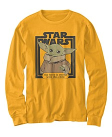 Little Boys Star Wars Strong Child Yoda Long Sleeve T-shirt