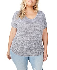 Trendy Plus Size Karly Short Sleeve Tee