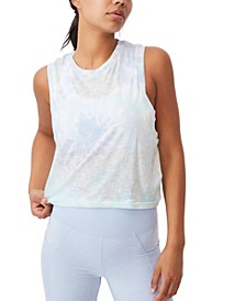 Women's All Things Fabulous Cropped Muscle Tank