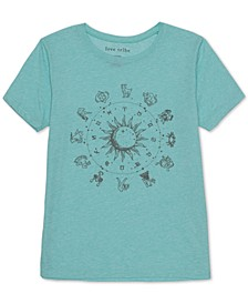 Juniors' Zodiac Graphic T-Shirt