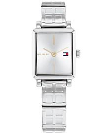 Women's Stainless Steel Bracelet Watch 21x24mm