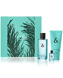 Men's 3-Pc. Tiffany & Love Eau de Toilette Gift Set