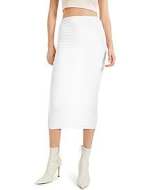 CULPOS X INC Ribbed Midi Skirt, Created for Macy's