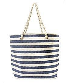 Women's Stripe Tote Bag