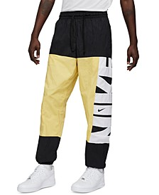 Men's Colorblocked Basketball Pants