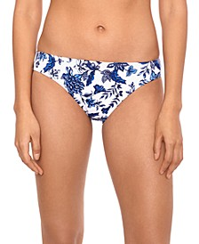 Toile Floral Hipster Bikini Bottoms